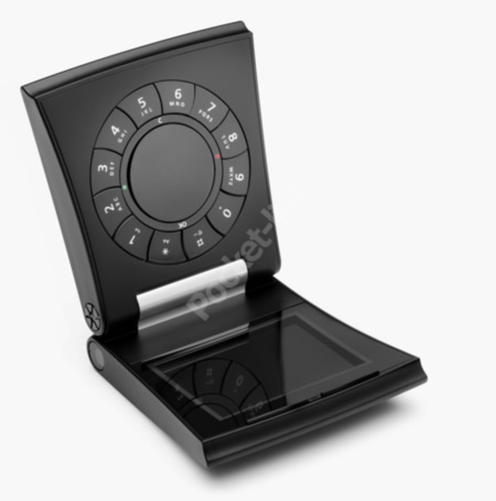 Samsung Serene с круговой клавиатурой был выпущен совместными усилиями Samsung electronic и Bang & O