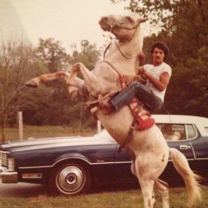 «Мой папа намного круче, чем я когда-либо буду, 1980 год».
