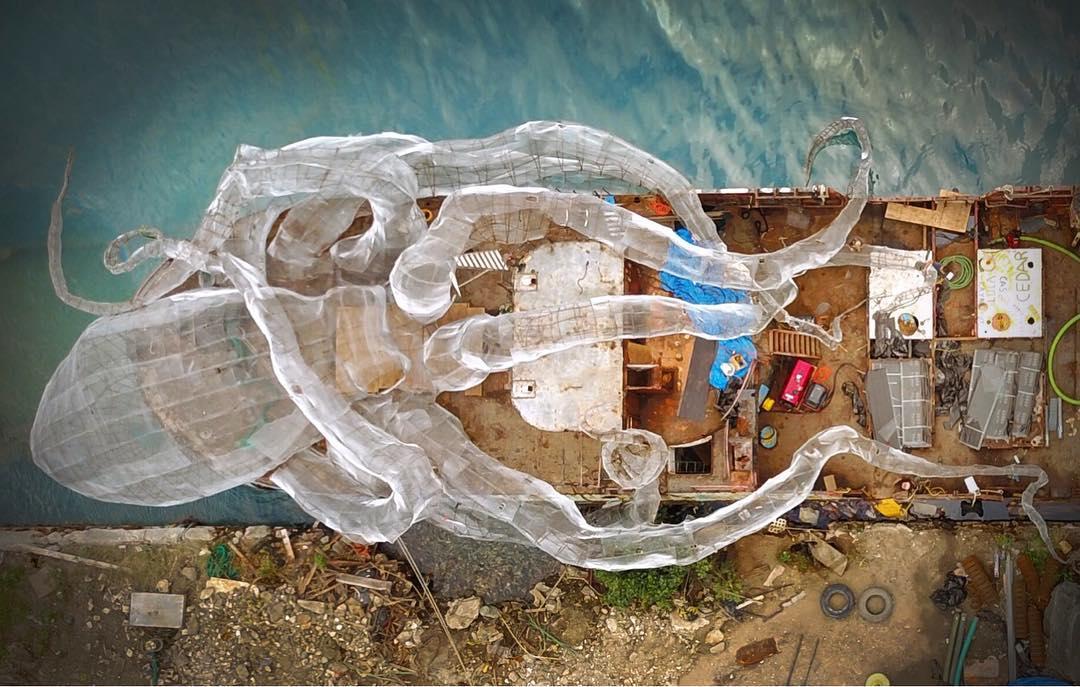 Вот это зрелище: 80-футовый стальной Кракен создаст коралловый риф возле Британских Виргинских островов