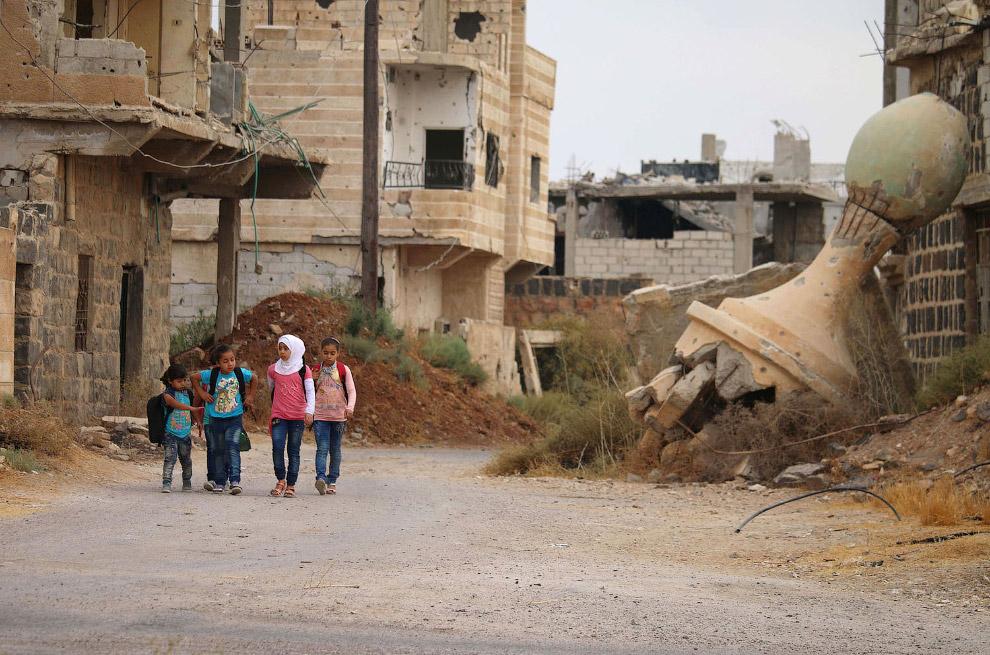 17. И это тоже. Сирия, 2017 год. (Фото Amer Almohibany):