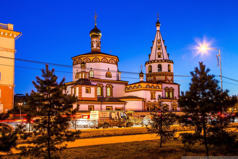 Прогулка по Иркутску и Байкал