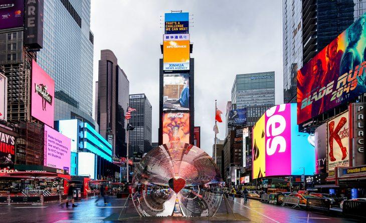 Times Square Arts has announced that collaborators   Aranda\Lasch  +  Marcelo