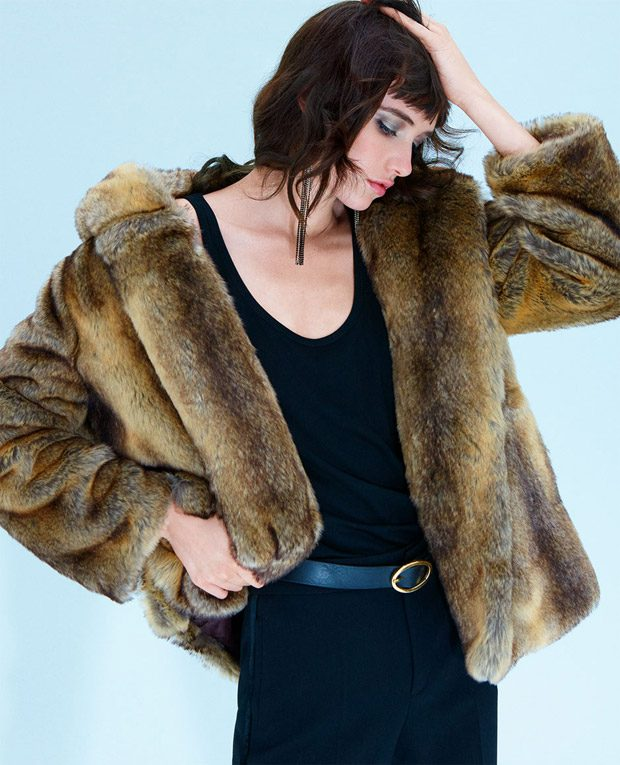 Night Out: Grace Hartzel Models Zara FW17 Evening Collection