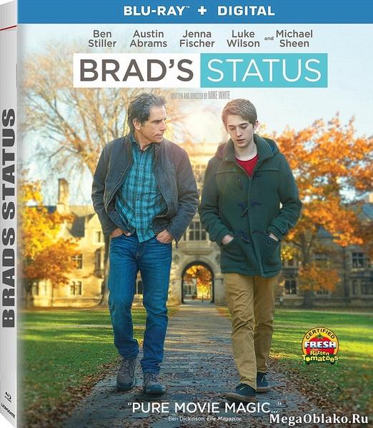 Статус Брэда / Brad's Status (2017/BDRip/HDRip)