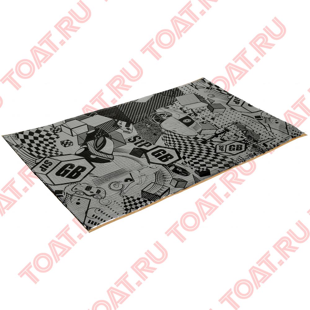 StP GB 2 0,75x0,47 m, Бюджетный вибропоглощающий материал StP GB 2 0,75x0,47 m. Минимальное количество заказа данного товара 1 упаковка. Одна упаковка содержит 10 листов.