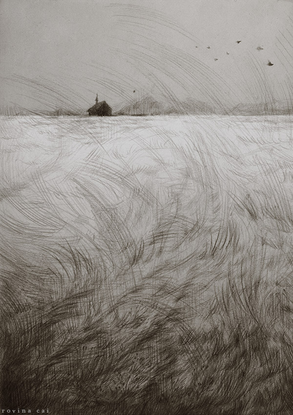 Beautiful and Eerie Illustrations by Rovina Cai