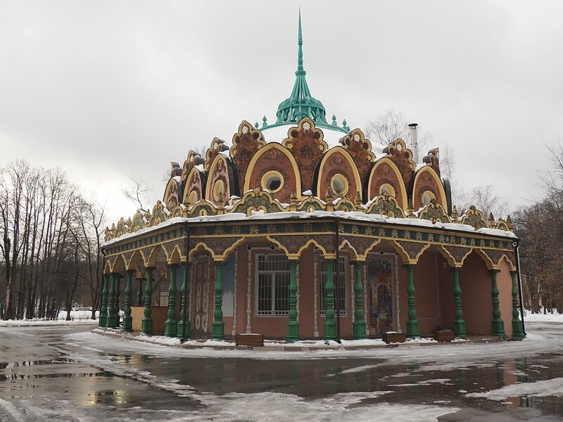 "Москва, ВДНХ – павильон «Табак» (Moscow, VDNH - pavilion ""Tabak"")"