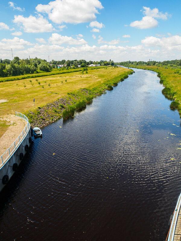 Днепровско-Бугский канал, соединяющий Мухавец с Пиной.