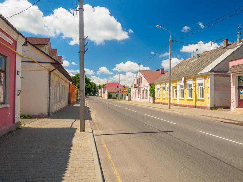 Улицы Кобрина.