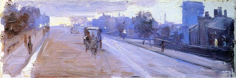 Hoddle Street, 10 P.M. 1889