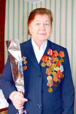 Александра Емельяновна Скрипина