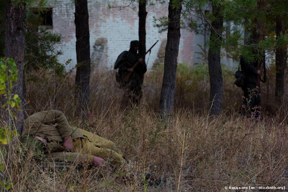 Подвиг бойцов 64-й Армии в боях за Сталинград. Реконструкция
