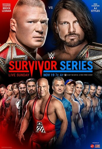 Post image of WWE Survivor Series 2017