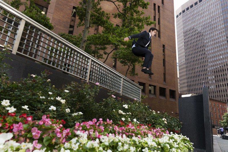 Бен Франке. Черные галстуки паркура.