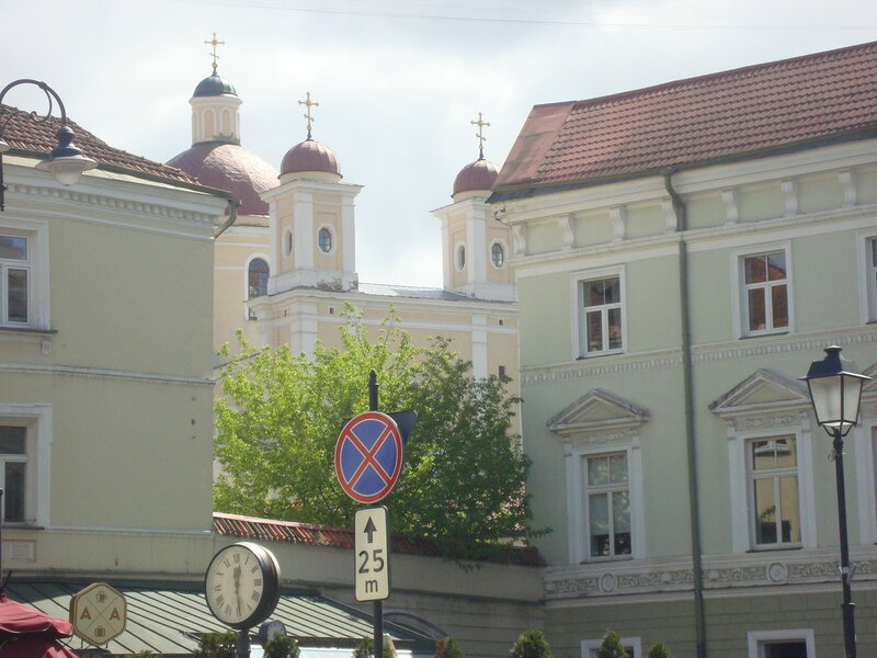 Вильнюс. Церковь Святого Духа (3)