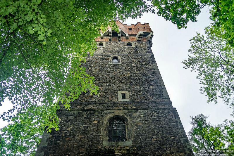 Цешин. Замковая гора