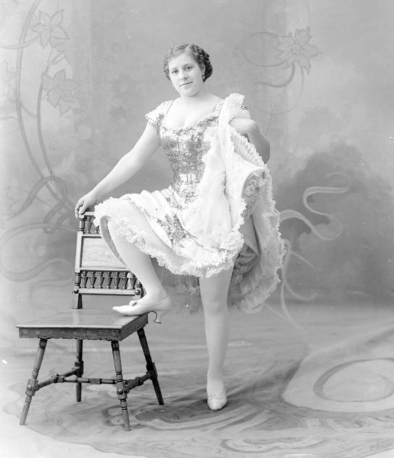 1913. Бойкова - шансонетка Нижегородской ярмарки