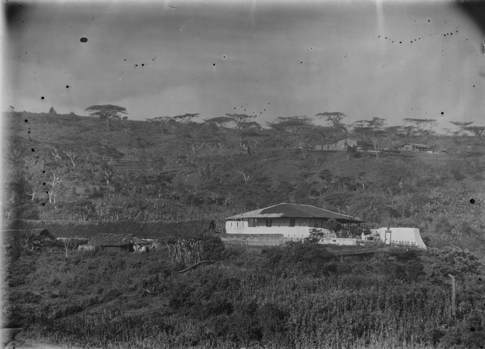 152. Станция немецкого общества Восточной Африки (ДОАГ) в Марангу