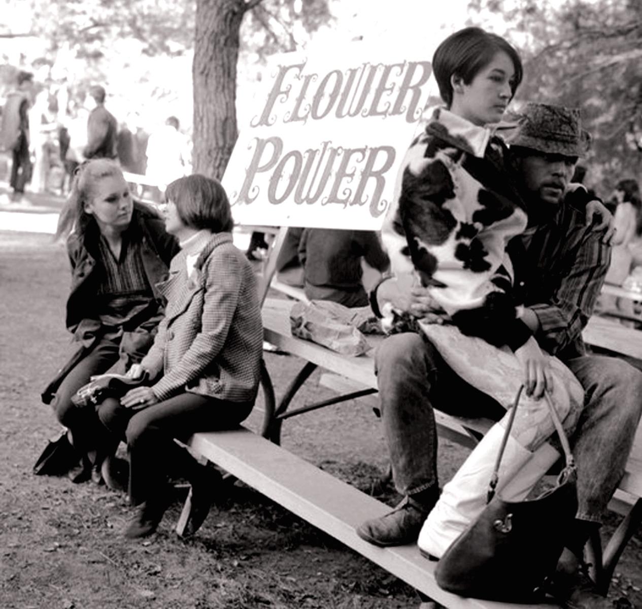 1967. «Власть цветов» в парке