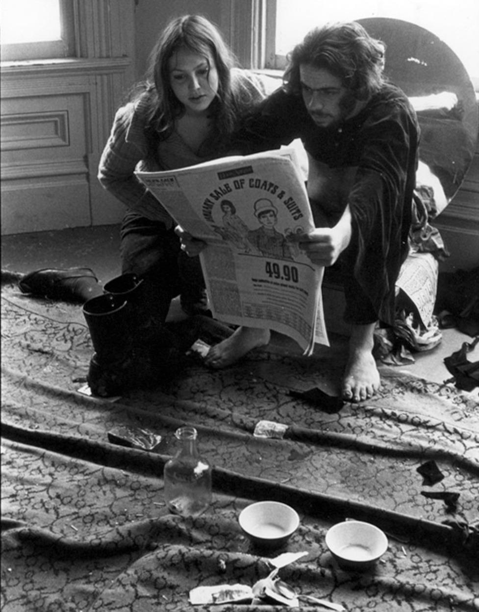 1967. Хиппи в Сан-Франциско