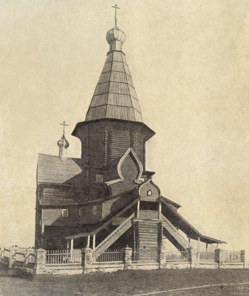 Окрестности Шенкурска. Село Ростовское. Церковь Флора и Лавра