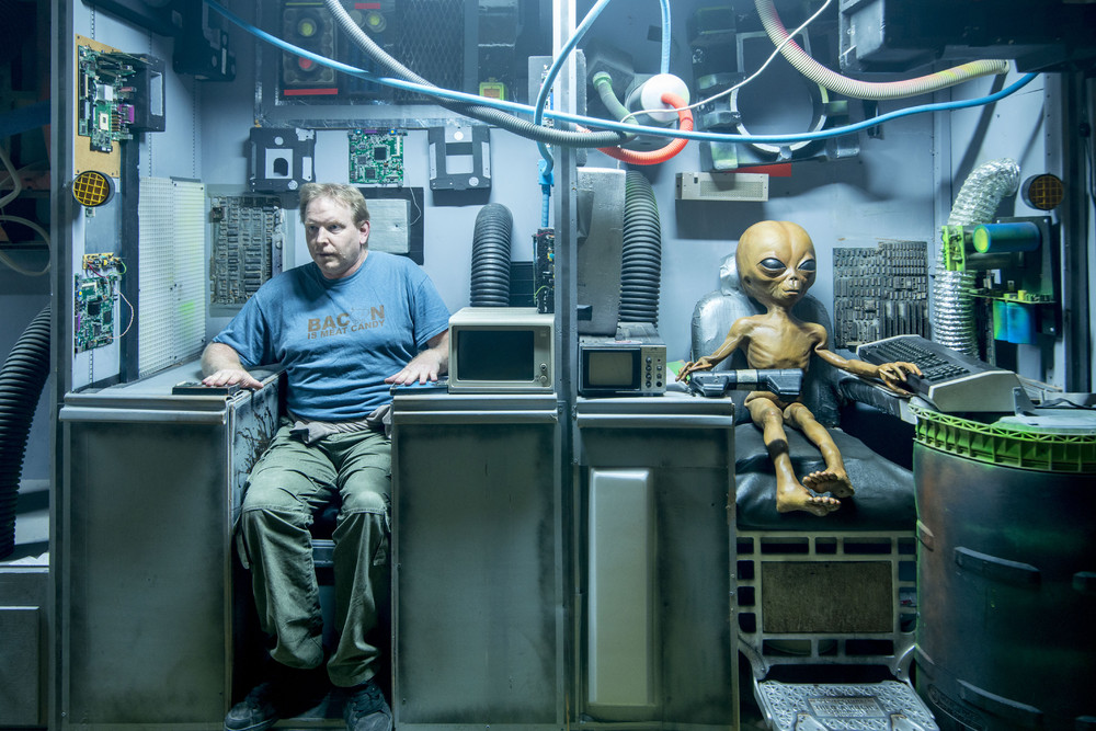 Ночь в музее с инопланетянами