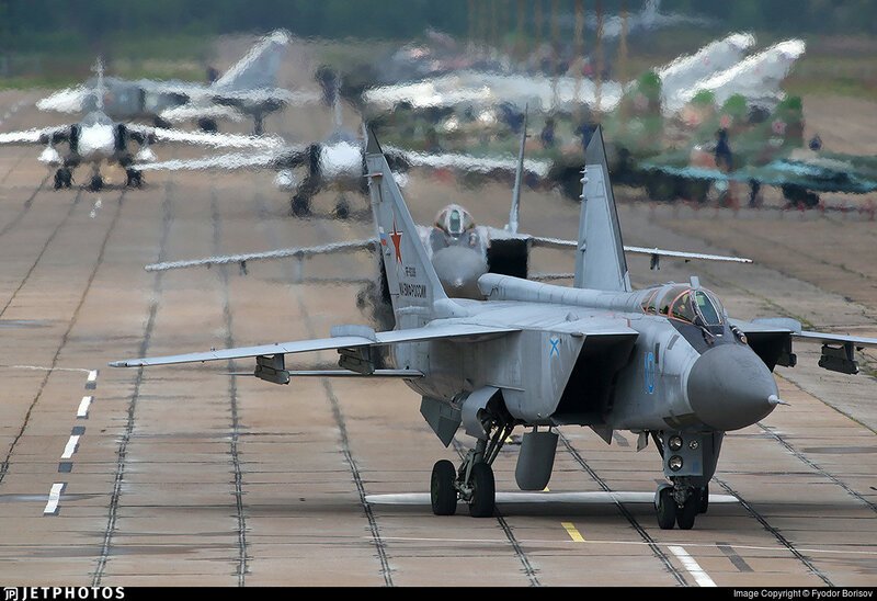MiG-31 at Gromovo