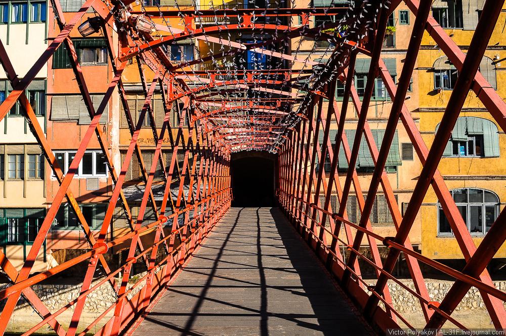 Мост Эйфеля в Жироне