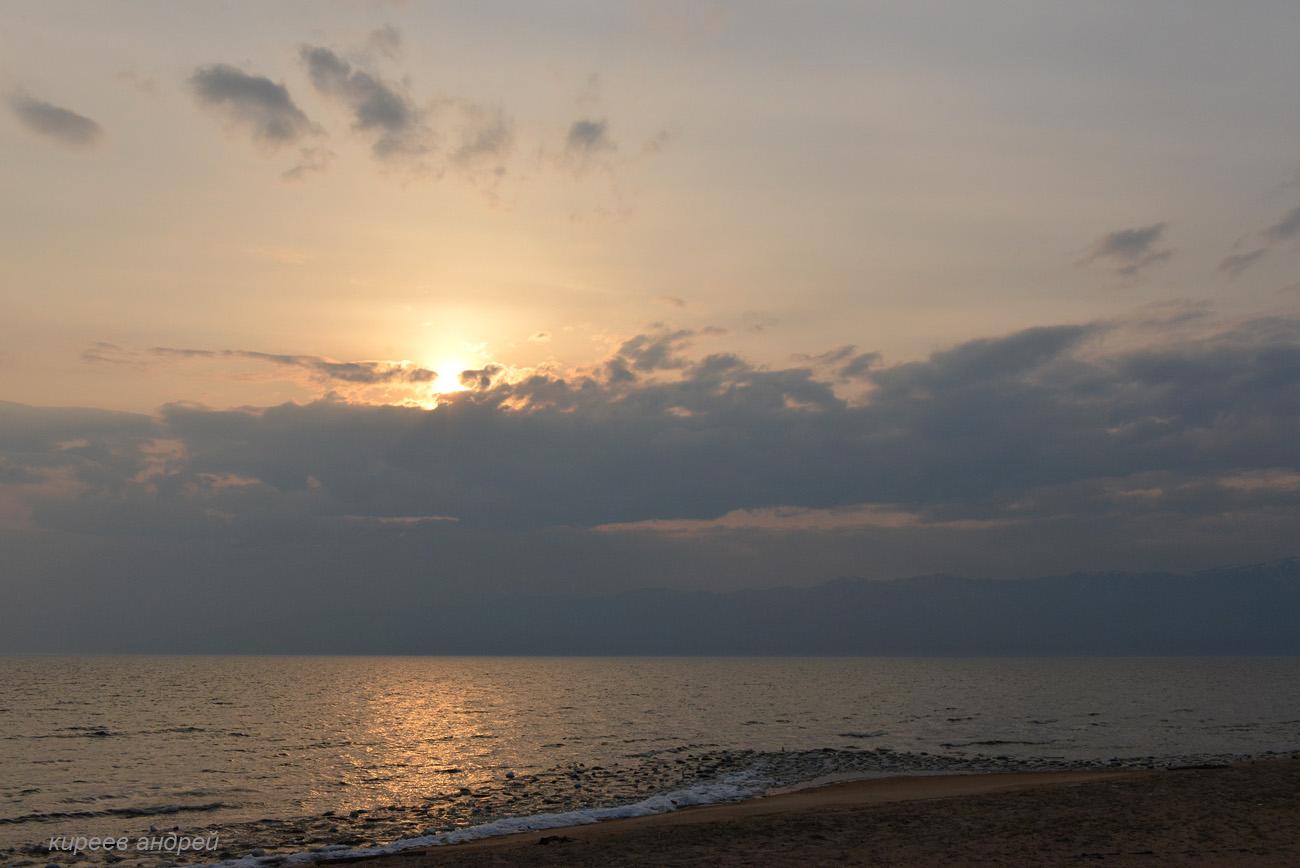Баргузинский залив.