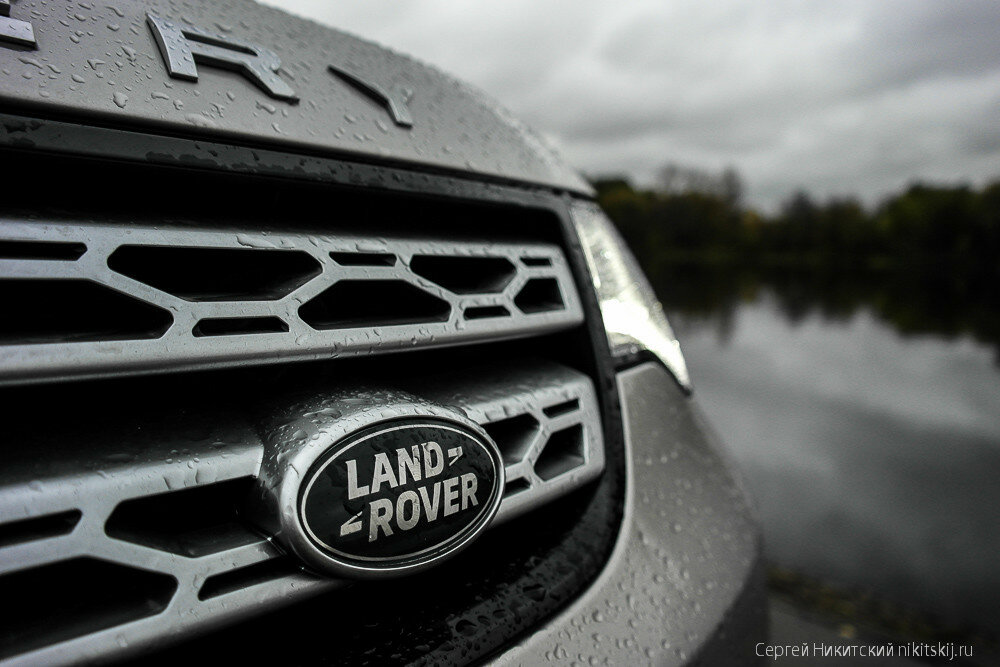 Тест-драйв Land Rover Discovery 5