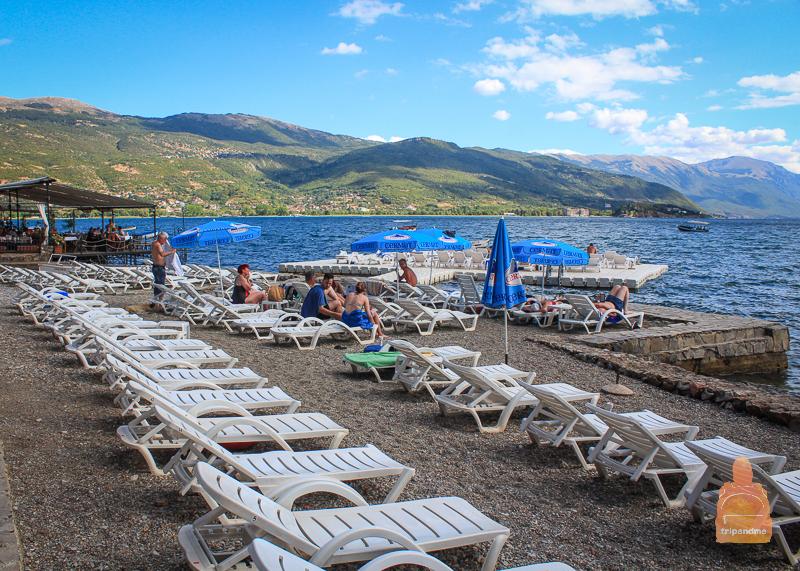 Отдых на озере Охрид