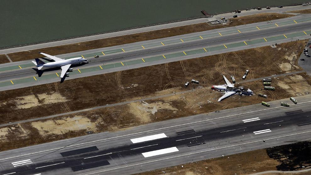 Эта авиакатастрофа показала, что серьезные повреждения самолета еще не означают большие жертвы. есть