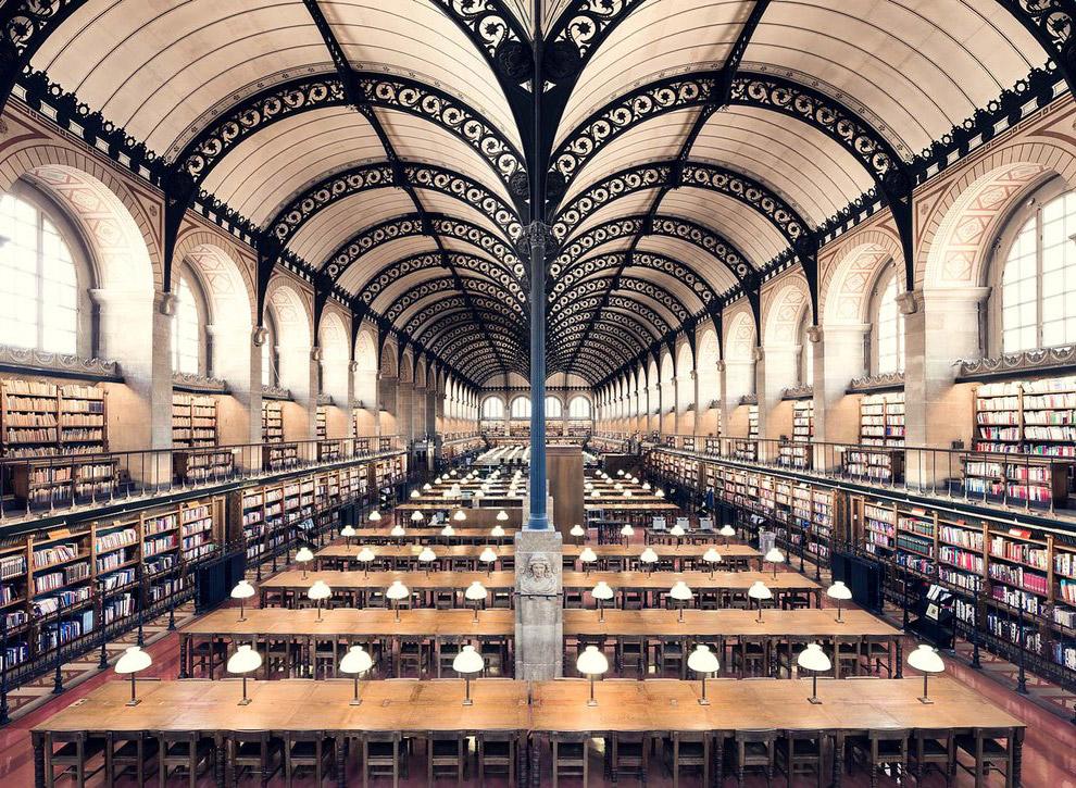 3. Французская библиотека La Salle Labrouste.