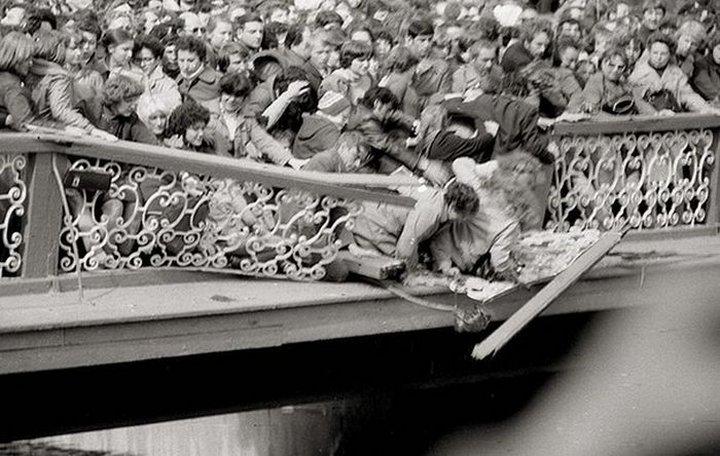 14. Ленинград. Открытие фонтанов в Петергофе. Май 1983 года