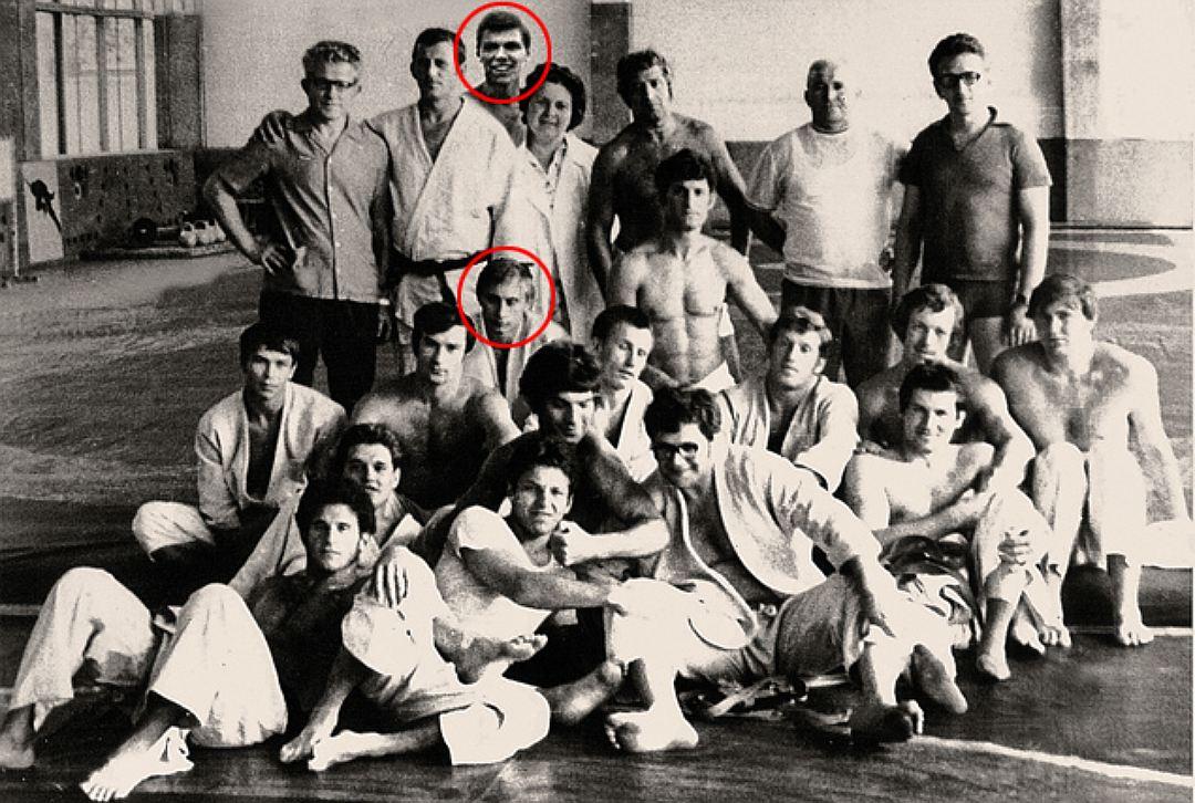 Путин и Ващилин занимались в одном спортивном обществе «Труд». Будущий каскадер учил будущего презид