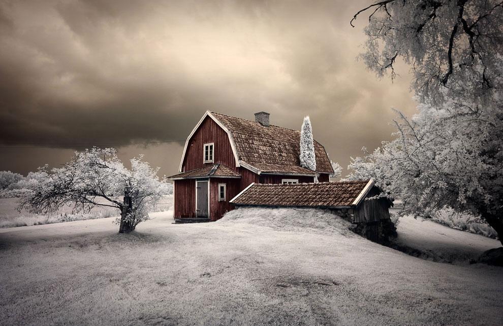 Зимнее солнцестояние в полночь: