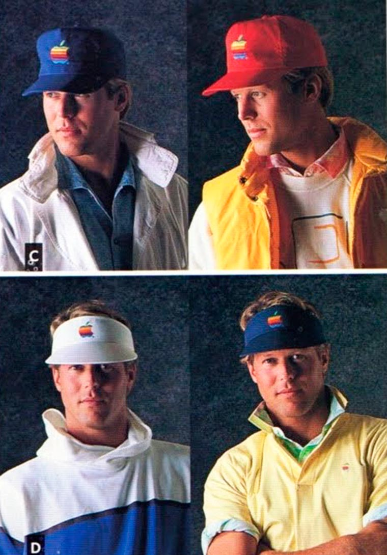 Оказывается, без Стива Джобса в 1980-е годы Apple продавала одежду