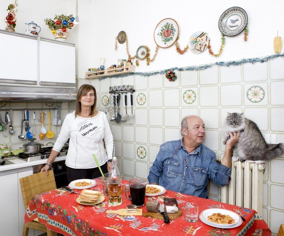 17. Паола Агнелли (58) и Роберто Галимберти (63), Кастильон-Фьорентино, Италия   Впервые я встр