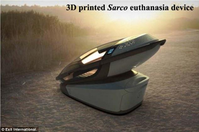 По словам изобретателей «смертельной машины», устройство облегчит муки неизлечимо больного человека.