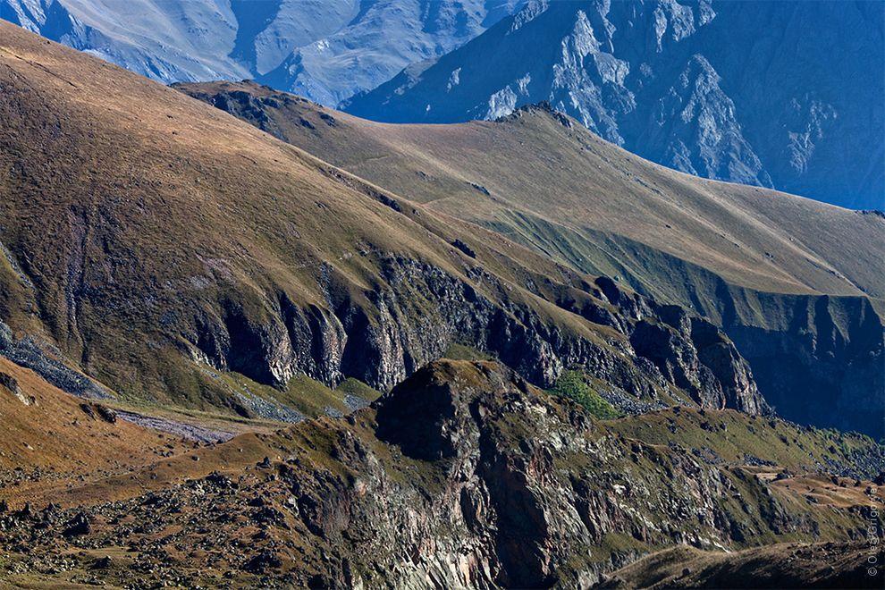 Грузия: восхождение на Казбек