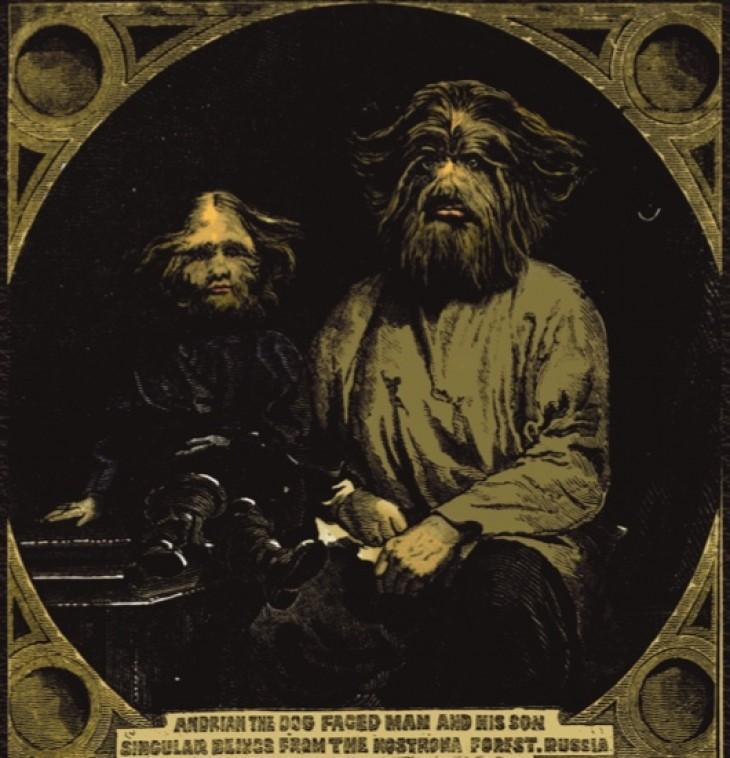 В 1870-х годах звездой паноптикумов Лондона и Ливерпуля был «мальчик с собачьей мордой» из Р