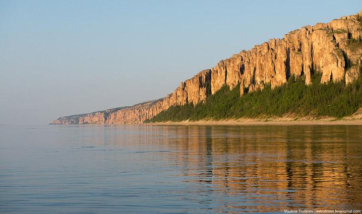 Заповедник Ленские столбы Находится в Хангаласском улусе Якутии в 104 км от города Покровска.