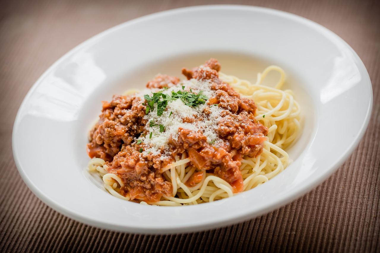 1 место. Спагетти болонезе - Nudeln mit Bolognese