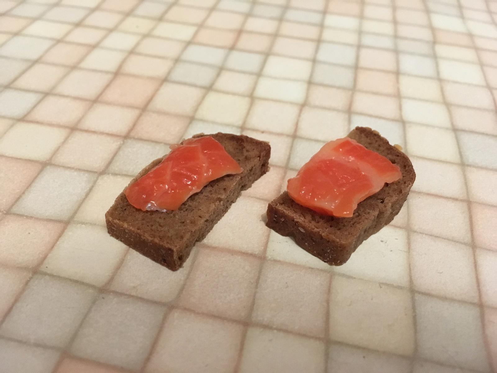 Бюджетные бутерброды с красной рыбой!