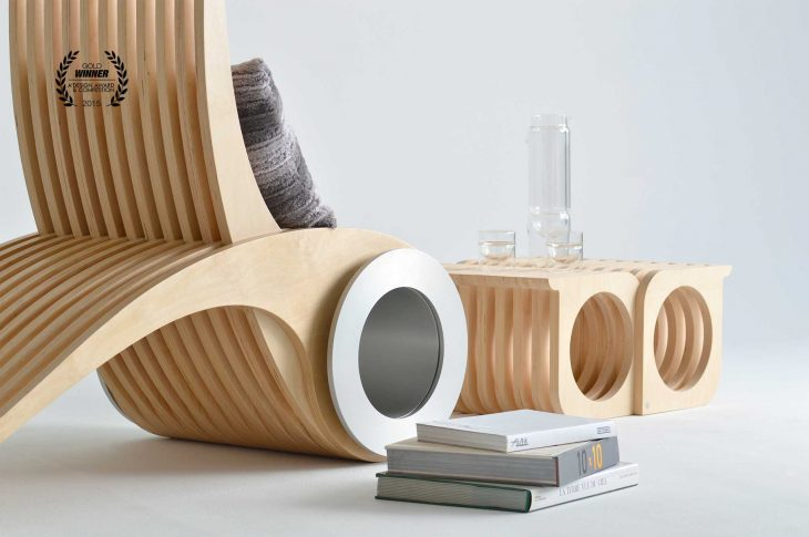 Exocet Chair by Stephane Leathead
