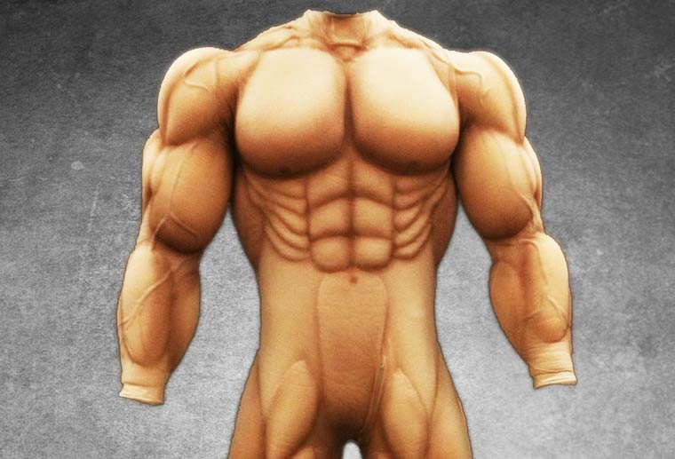 Giant Muscle Suit – These WTF costumes will turn you into a super muscle-bound beast (16 pics)