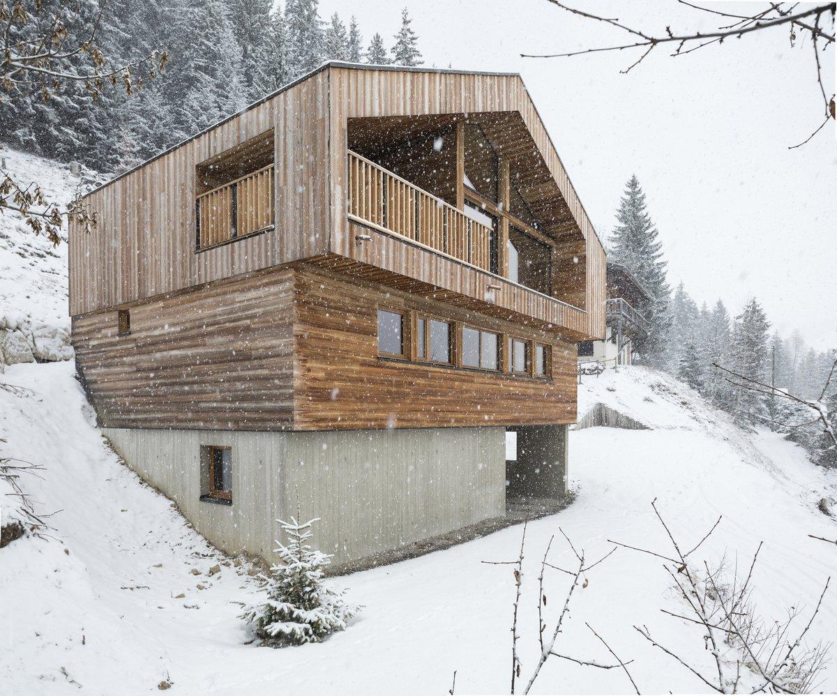 Эко-дом во французских Альпах