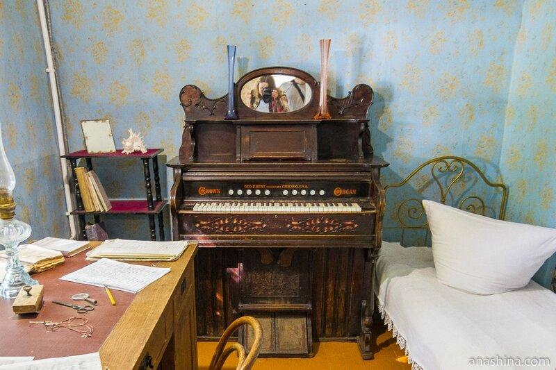 Спальня дочери Циолковского, дом-музей Циолковского