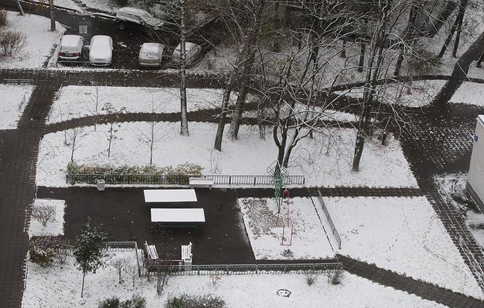 Первый снег 2017