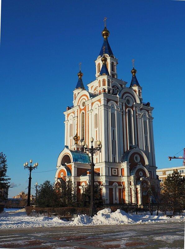Хабаровск, Успенский собор (Khabarovsk, the Assumption Cathedral)